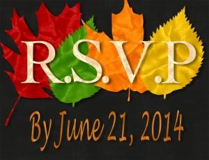 Fall Wdding invite RSVP - Vista Print Size - Page 001