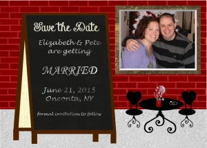 Save the Date Bistro