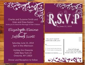 Wedding invite Presentation - Simply Elegant - Page 011