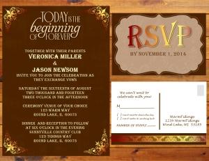 Wedding invite Presentation - Ladscape - Page 015