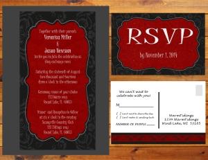 Wedding invite Presentation - Ladscape - Page 016