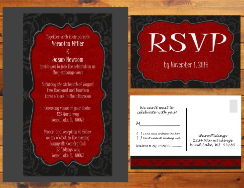 Wedding invite Presentation - Ladscape - Page 016