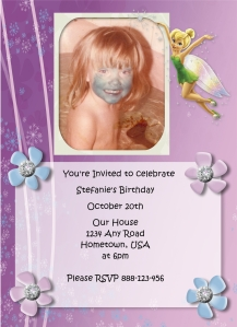 Fairy Birthday Invite